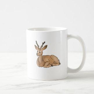 Deer - Coloured Sketch Coffee Mug