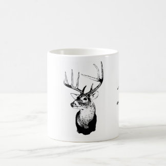Deer Hunting 10 point Basic White Mug