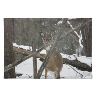 Deer In The Woods Placemat
