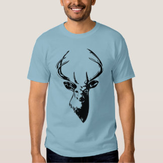 deer silhouette tee shirts