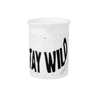 Deer - Stay wild Pitcher