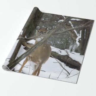 """Deer Wrapping Paper, 30"""" x 6' Wrapping Paper"""