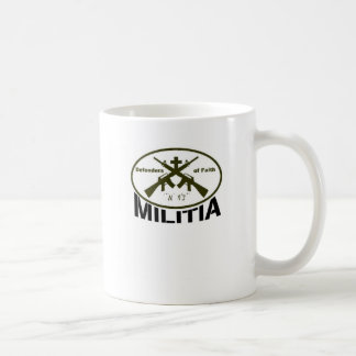 Defenders of Faith Basic White Mug