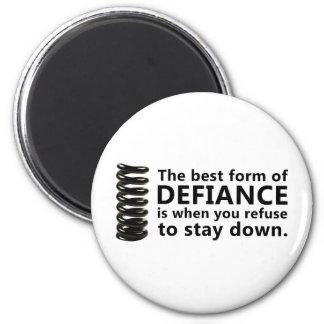 Defiance 6 Cm Round Magnet