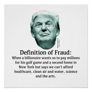 Definition of Fraud: When a Billionaire... Poster