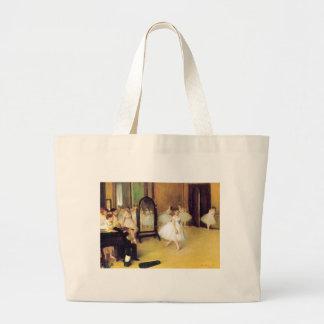 Degas Ballet Dancers Large Tote Bag
