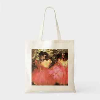 Degas Dancers in Pink Tote Bag