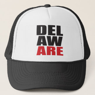 Delawar Rocks! State Spirit Gifts and Apparel Trucker Hat