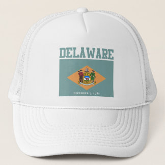 Delaware State Flag Hats