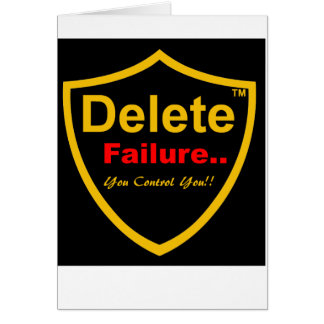 Delete Failure Good Luck on your exam card