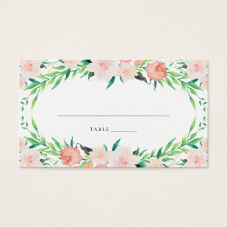 Delicate Bouquet Place Cards