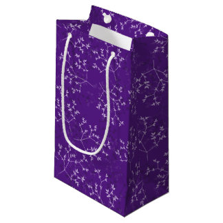 Delicate Purple Branches Gift Bag