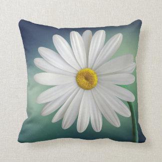 Delicate White Daisy Cushion