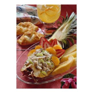 Delicious Festive pineapple salad Invites
