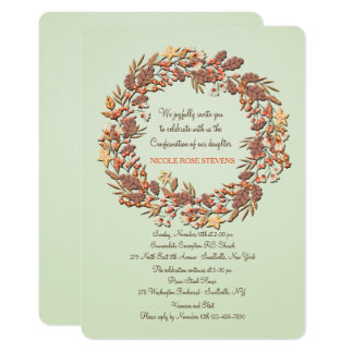 Delightful Autumn Invitation