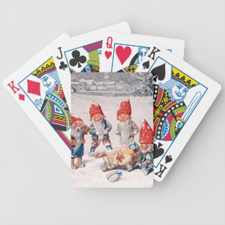 Delivery Accident Bicycle Playing Cards