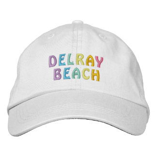 DELRAY BEACH cap Embroidered Hats