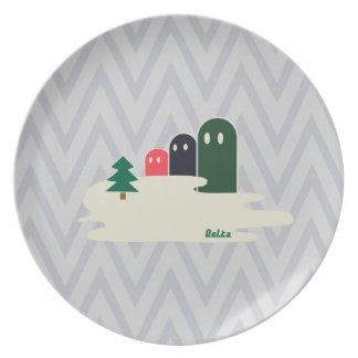 Delta01typeB-ライトカラー Dinner Plates