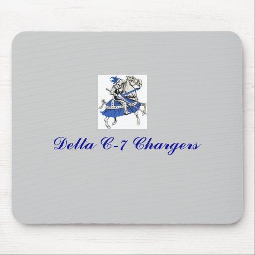 Delta C-7 Chargers mousepad