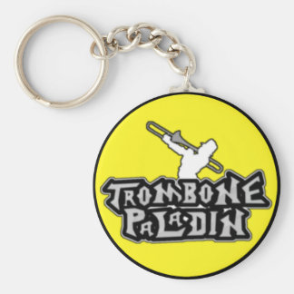 Deluxe Trombone Paladin Logo Key Ring