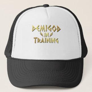 DEMIGOD IN TRAINING TRUCKER HAT