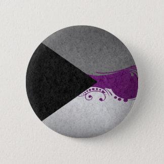 Demisexual Ornamental Flag 6 Cm Round Badge