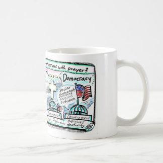 Democracy over Theocracy Coffee Mug