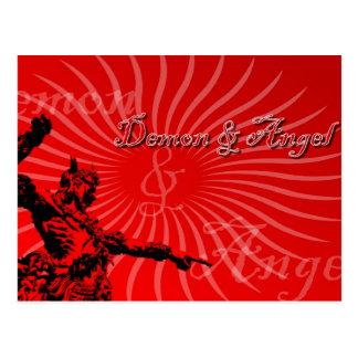 Demon & Angel Postcard
