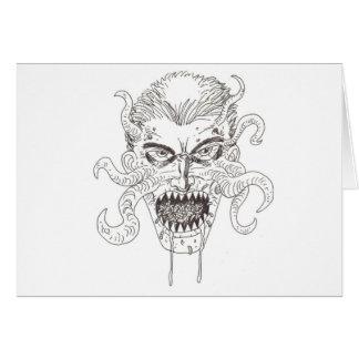 Demon Art Card