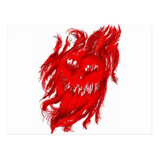 Demon Postcard