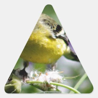 Dendelion Feast Triangle Sticker