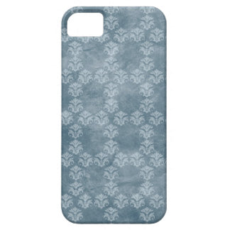 Denim Blue Honeycomb Vintage iPhone 5 Cover