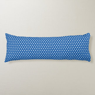 Denim Blue Polka Dots Body Cushion