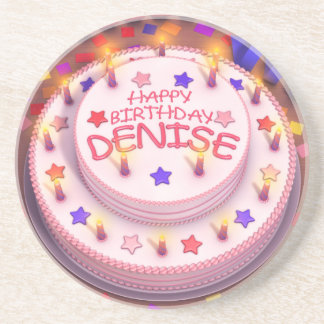 Happy Birthday With Birthday Cake Candles Drink Beverage