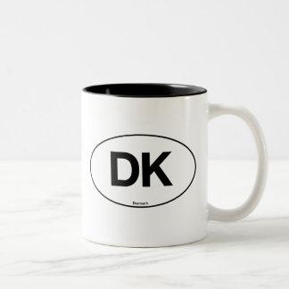 Denmark Oval Two-Tone Coffee Mug