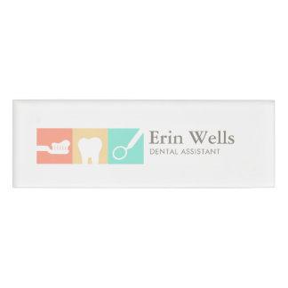 Dental Assistant Dentist Name Tag