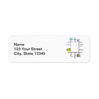 Dental Divergence Return Address Label