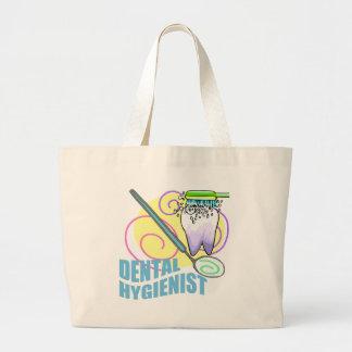 Dental Hygienist Large Tote Bag