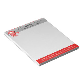 Dentist Big Mouth Small Dental Notepads