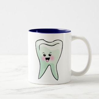 Dentist Dental Hygienist Orthodontist Two-Tone Coffee Mug