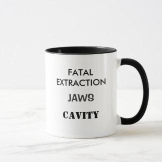DENTIST HORROR Funny Dentist Joke Mug