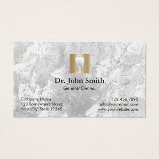 Dentist Modern Marble Dental Care Appointment