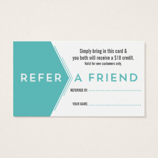 Dentist Referral Business Card