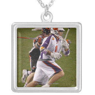 DENVER, CO - MAY 14:  Joe Walters #1 Hamilton 3 Silver Plated Necklace