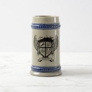 Denver H3 Crest Beer Stein Mugs