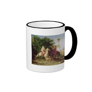Departing for the Hunt Coffee Mugs