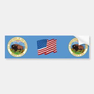 Department of the Interior Bumper Sticker