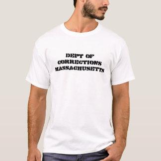 dept of corrections MASSACHUSETTS T-Shirt
