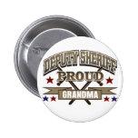 Deputy Sheriff Proud Grandma Pin