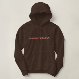 DERBY. EMBROIDERED HOODY